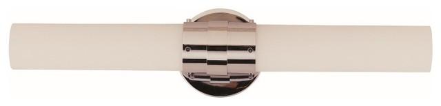 Trans Globe Lighting 2910 PC Solstice Vanity 2-Light Bath Bar, Polished Chrome
