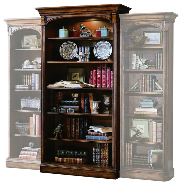 Warwick Open Bookcase, Cherry.
