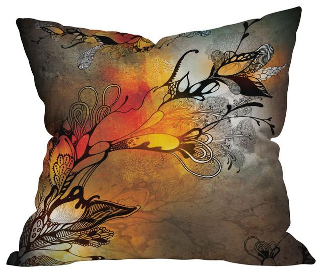 Iveta Abolina Before The Storm Throw Pillow, 26x26