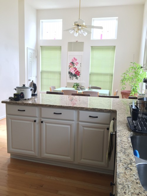 White or Beige Walls with White Kitchen Cabinets?