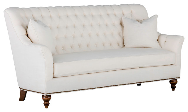 Astounding Gabby Abbey Tufted Back Sofa Cream Zulu Vanilla Gmtry Best Dining Table And Chair Ideas Images Gmtryco