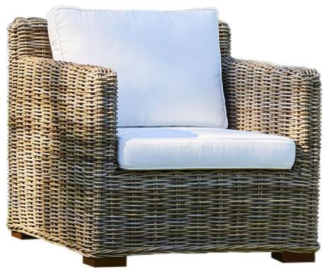 Kubu Rattan Sofa Chair, Single