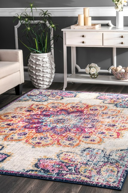 nuLOOM Withered Bloom In Bouquet Area Rug, Multi, 8'x10'