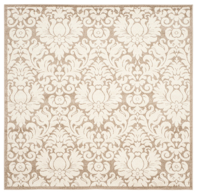 Safavieh Lastovo Rug, Wheat And Beige, 7&x27;x7&x27; Square.