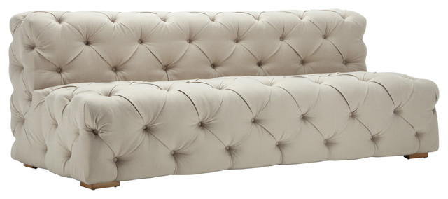 Chateau Modern Tufted Sofa - Transitional - Sofas - by CEETS