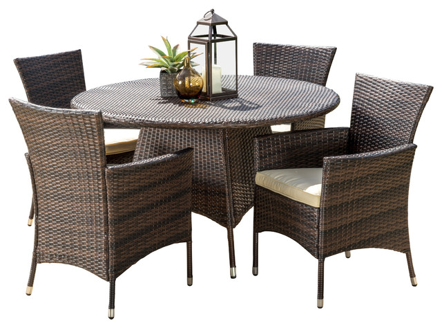 GDFStudio - Clementine Outdoor 5-Piece Dining Set - View in Your ...