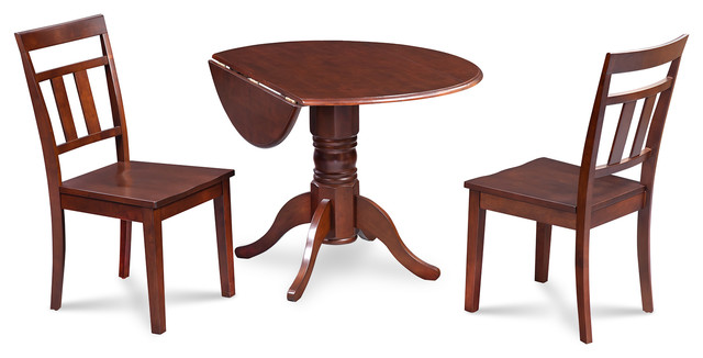 42 Burlington Dining Table Set With Wooden Seats Traditional Sets By Furniture