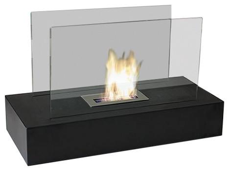 Fiamme Freestanding Bio Ethanol Fuel Fireplace.