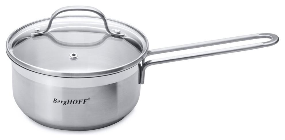Bistro 18 10 Ss 6 25 Cov Sauce Pan Essentials 1 4 Qts Contemporary Saucepans By Berghoff International Inc