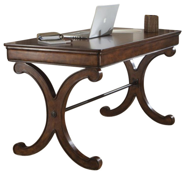 Liberty Brookview Writing Desk, Rustic Cherry.