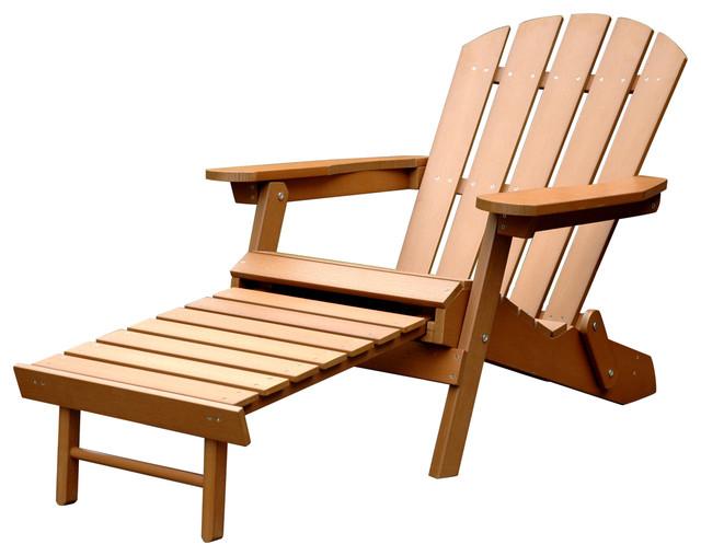 Faux Wood Adirondack Chair Traditional Adirondack