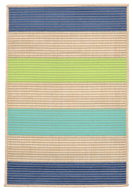 LioraManne Playa 1352 33 Stripe Cool Outdoor Rugs