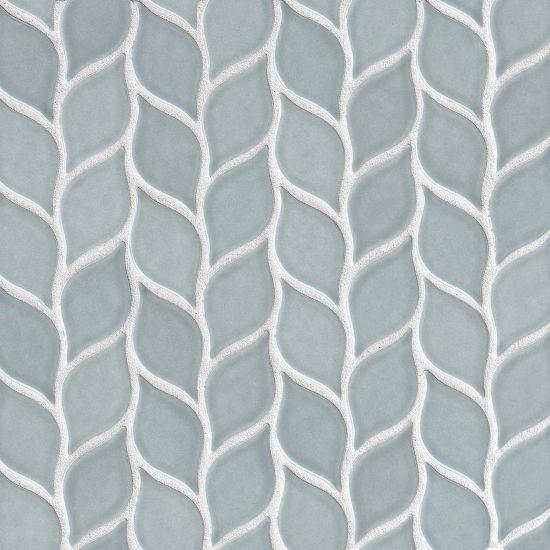 11-5/8x12 Costa Mesa 2-13/16x1-7/16 Mosaic, Surfside Blue