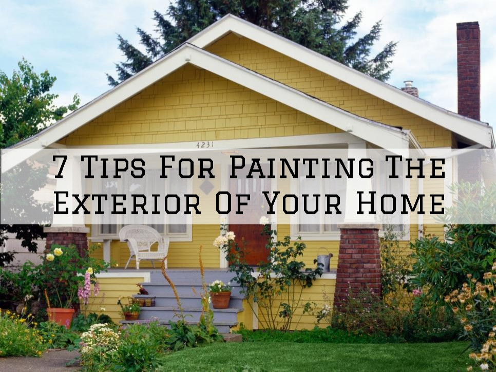 7 tips for painting the exterior of your home in Princeton, WI