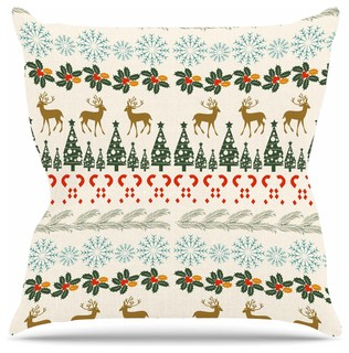 "Famenxt ""Christmas Vibes"" Throw Pillow, 26""x26"""