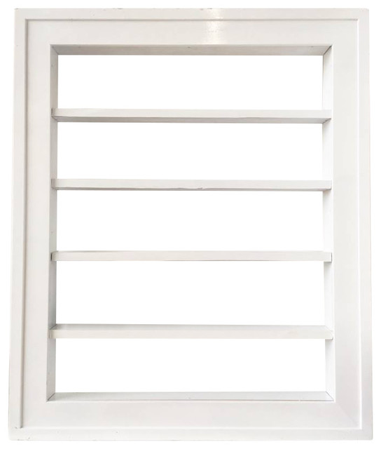 White Nail Polish Rack - Contemporary - Bathroom Cabinets And Shelves ...