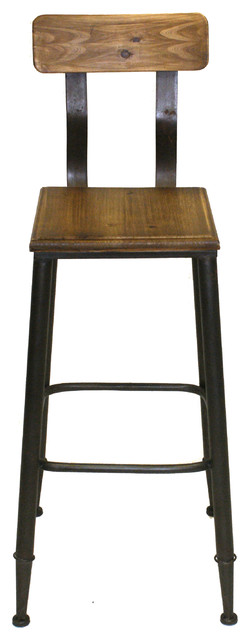 Pangea Home Aaron Counter Stool Amber View In Your