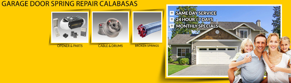 Garage Door Spring Repair Calabasas 818 405 9915   Calabasas, CA, US 91302    Home