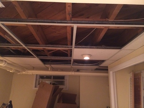 Drop Ceiling Vs Bare Ceiling