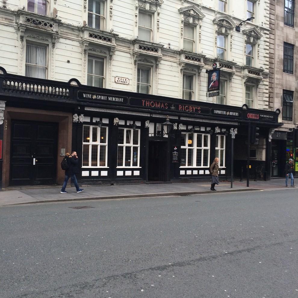 exterior  commercial job .Liverpool