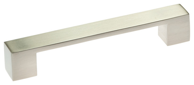 Metro Mod Cabinet Pull, Satin Nickel - Contemporary - Cabinet And ...