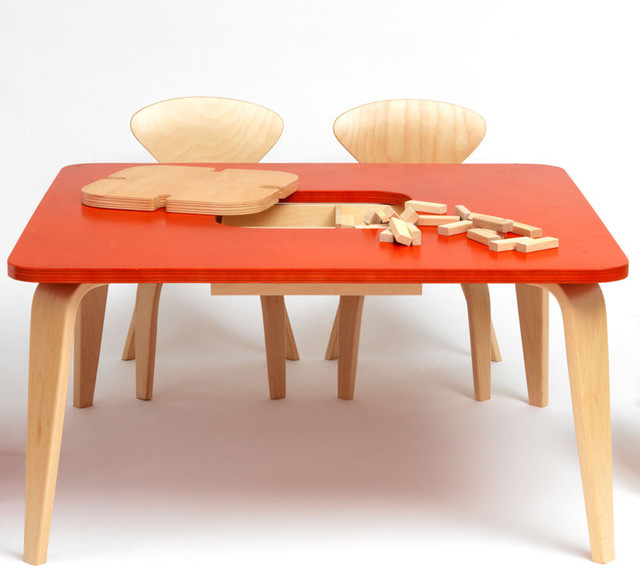 Modern Classroom Tables : Cherner chair quot classroom table modern kids tables