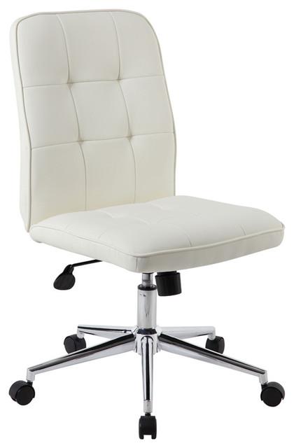 Modern Office Chair, White