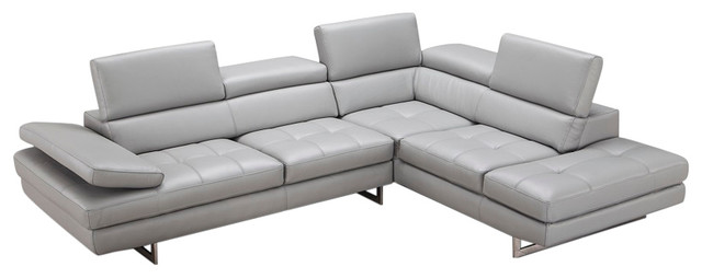 Aurora Sectional, Right Arm Chaise.