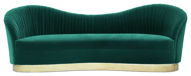 Kelly Sofa, Forest Green