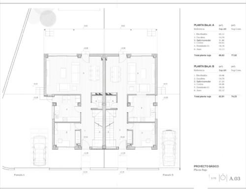 Help distribuci n planos planta baja sal n cocina for Planos de una cocina industrial