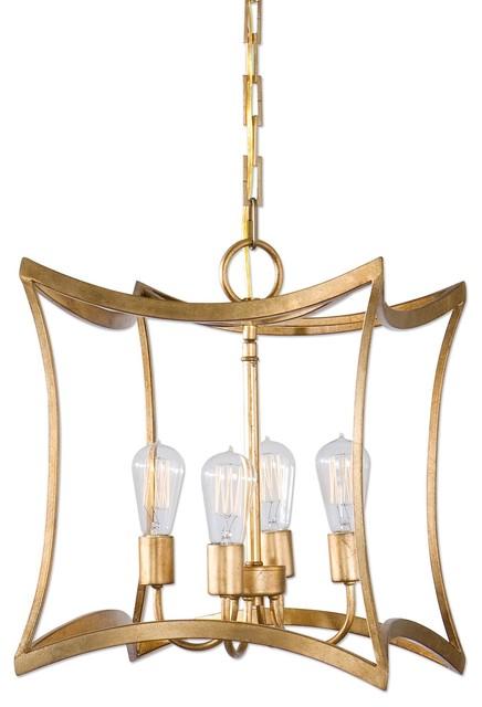 Uttermost Dore 4 Light Lantern Pendant.