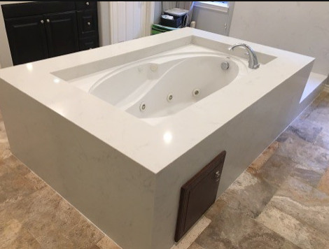 Dana Point Custom Marble Jacuzzi Tub
