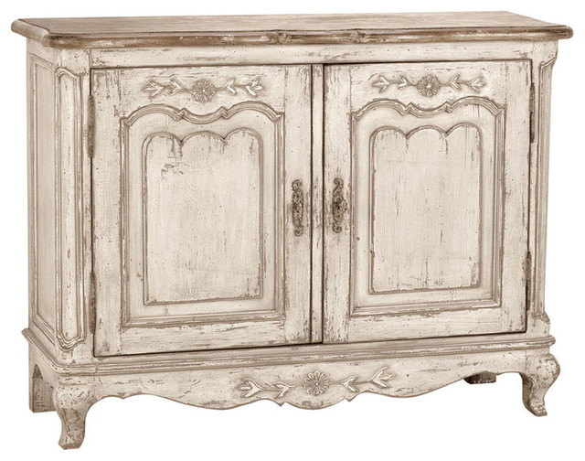 Chateau Low 2-Door Sideboard, Aged Grey
