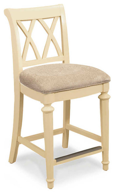 Camden Counter Stool by American Drew Buttermilk traditional bar stools and