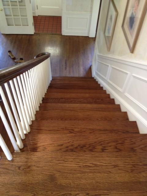 Red Oak Floors With Medium Brown Stain