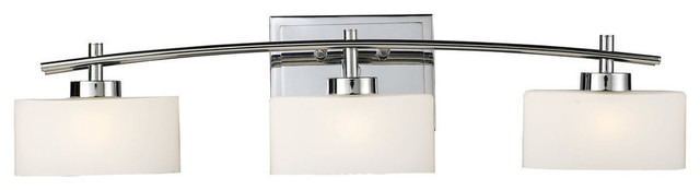Eastbrook 3-Light Vanity, Polished Chrome