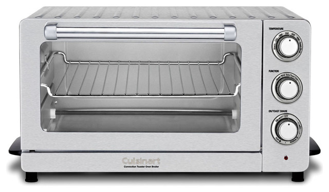 Counter Pro Convection Toaster Oven Broiler, Stainless Steel.