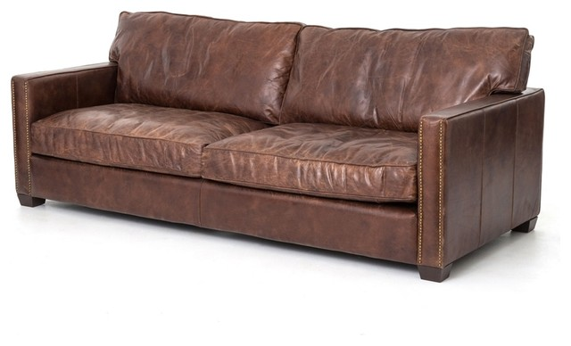 Four Hands Larkin 88 Sofa Transitional Sofas By