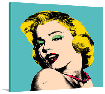 Marilyn Monroe Canvas Print Giclee Graphic Poster Picture