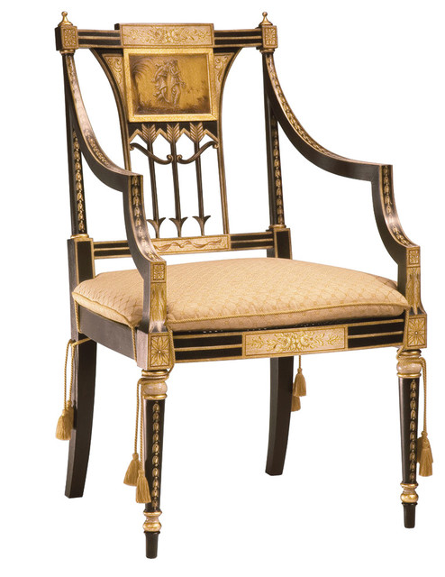 Sheraton Armchair Victorian Dining Chairs
