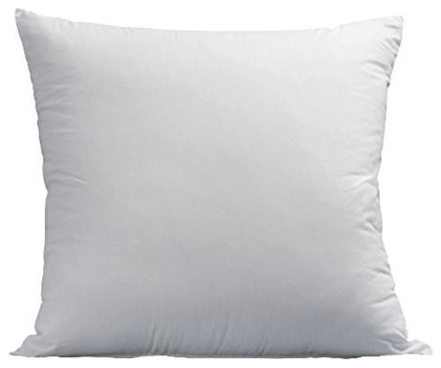 Plush Gel-Fiber Filled Pillows, 1,500TC Microfiber, Euro, Set of 2