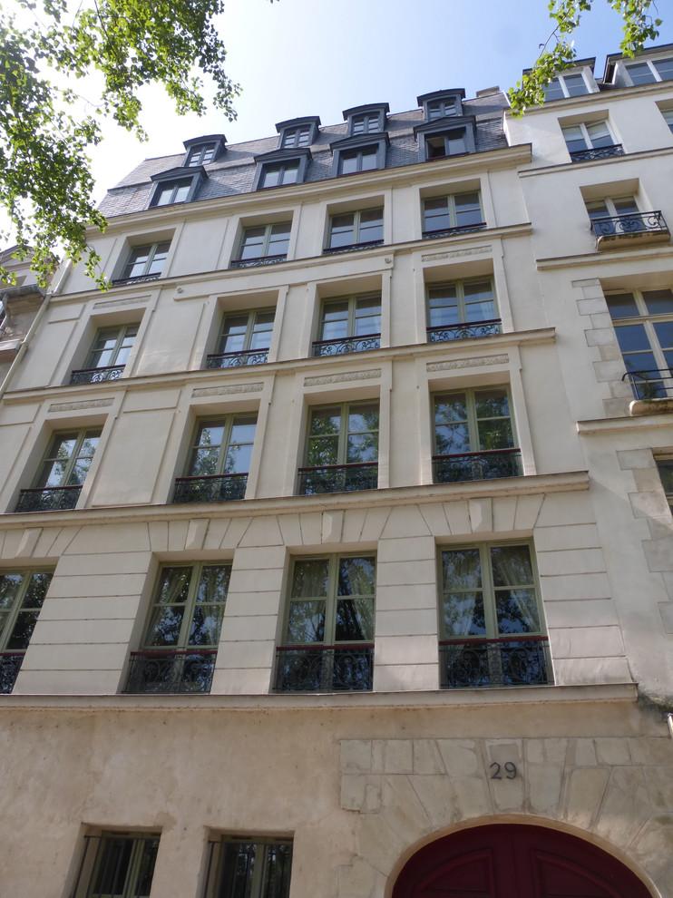 Restauration d'un immeuble (Ile-Saint-Louis)