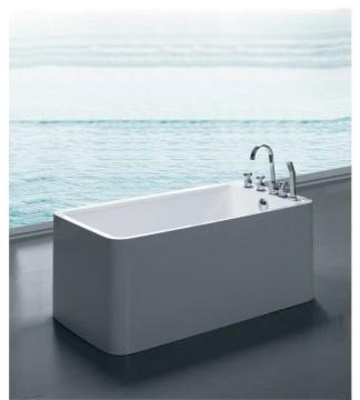 Aquatica Purescape 55 Inch Freestanding Tub Purescape 327b Modern
