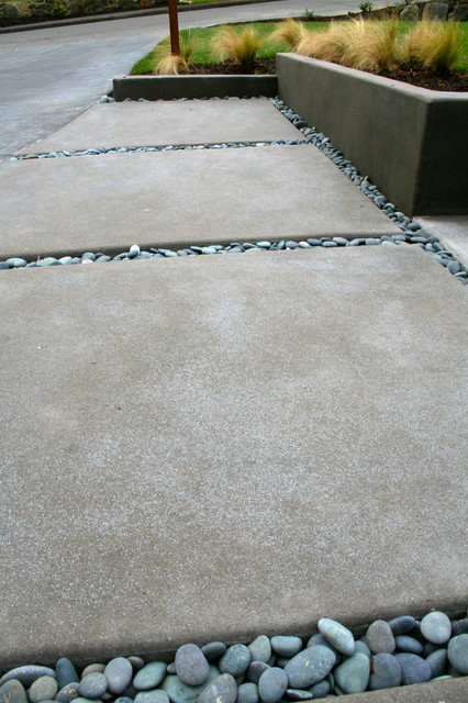 Acid Etched Concrete