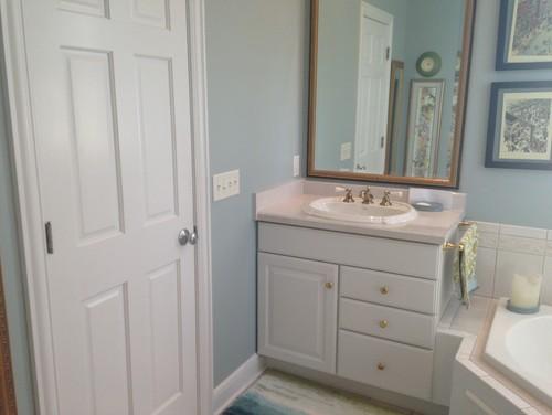 Do i need a backsplash on my bathroom sink for Backsplash for bathroom sink ideas