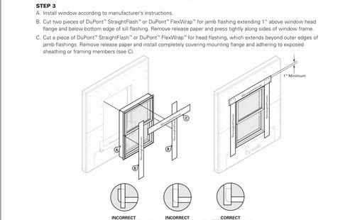 tyvek house wrap installation instructions