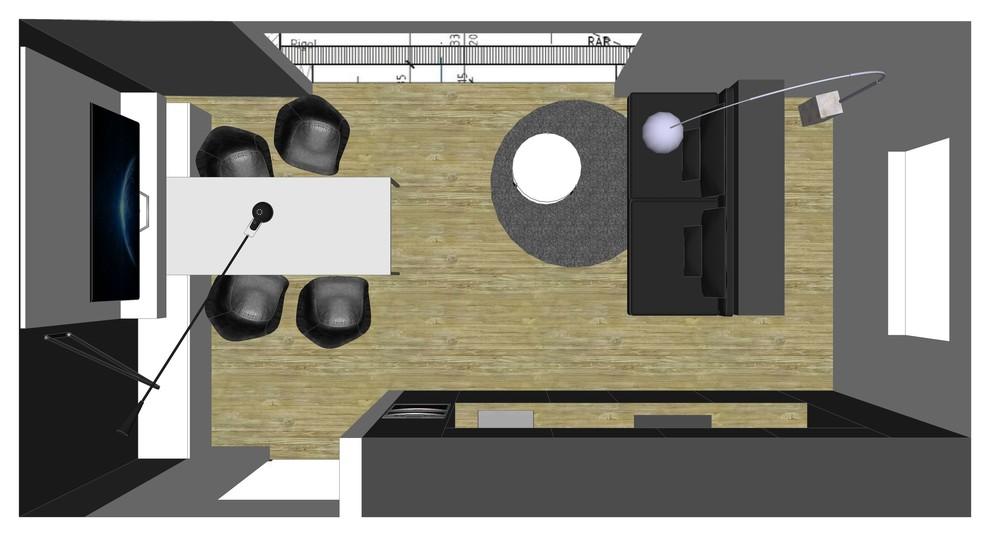 Houzz Wohnküche Bild I