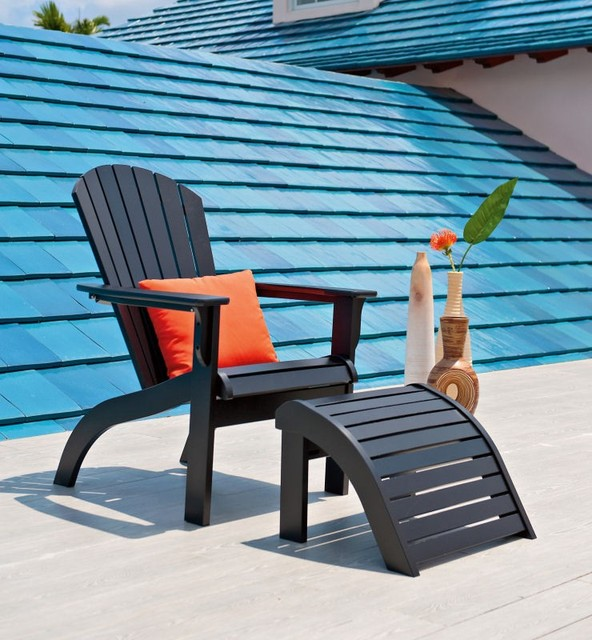 Plastic Adirondack Chairs Blue