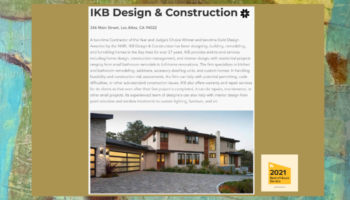 Article from General Contractor Online Magazine