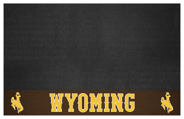Wyoming Cowboys Bbq Grill Mat.